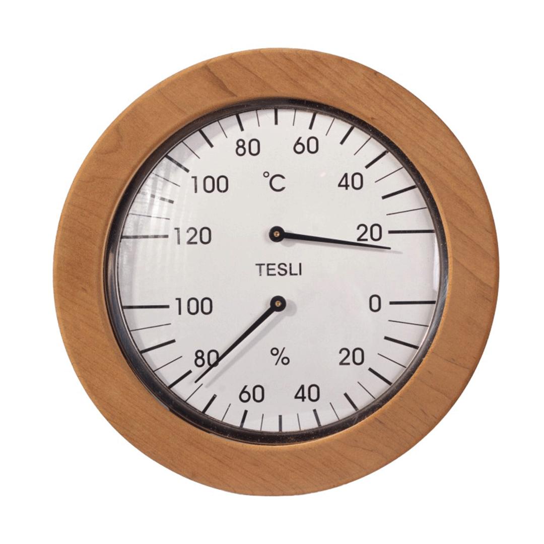 Термогігрометр великий Теслі